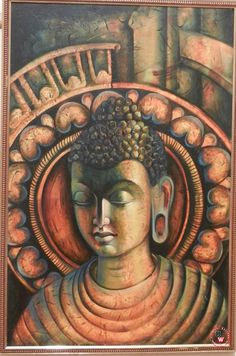 """We live in a time when science is validating what humans have known throughout the ages: that compassion is not a luxury; it is a necessity for our well-being, resilience, and survival. Budha Painting, Oil Painting Abstract, Buddha Zen, Gautama Buddha, Soft Pastel Art, Religious Paintings, Coffee Painting, Buddhist Art, Indian Art"