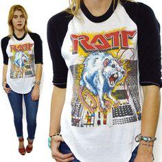 Vintage Ratt N Roll t-shirt -