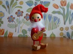 Your place to buy and sell all things handmade Christmas Gnome, Christmas Ornaments, Vintage Christmas, Elf Yourself, Wooden Figurines, Elves, Elf On The Shelf, Gnomes, Mid Century