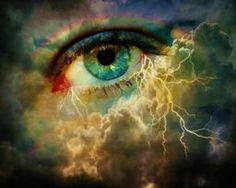 The Eye Of The Storm via @terryfleckney #surrealart #eye #eyeofthestorm