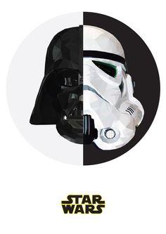 STAR WARS Art Print by MGNFQ | Society6