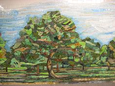 """Detail of """"Delancey Orchard"""" in Delancey Station, originally uploaded by hoggardb. Ming Fay 2004 Smalti Mosaic Fabricated by Franz Mayer of Munich Franz Mayer of Munich – a bit of…"""