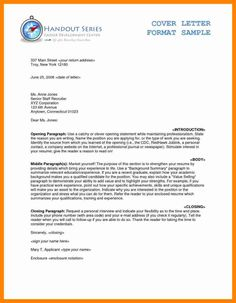 Business Letter Format  Business Professionalism