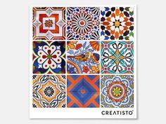 Qualität Fliesenaufkleber creatisto Portugiesische Fliesen