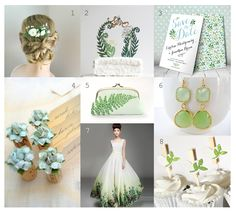 Green wedding ideas. Lovely handmade items for your green wedding! www.53countesses.blogspot.com