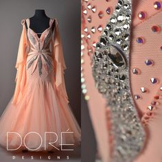 dore designs pink and silver
