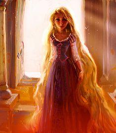 Rapunzel. Disney Princess. creative. Fan art. beautiful. Fashion. Diva. #ForeverEileen