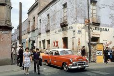 Fred Herzog - Mexico City with Chevrolet 1963