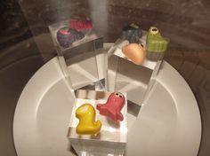 los pekaditos, mascotas comestibles del VII Salón del Chocolate de Madrid en Moda Shopping. @Chocoadictos.