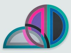Frank Stella, 'Darabjerd I,' 1967, Glass House, acrylic on shaped canvas. 120 x 180 in