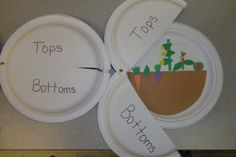 Activity to go with the book tops and bottoms