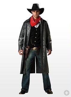 Popolari Cappotto Da Uomo Cowboy Western Carnevale Party Cosplay Cowboy Clothing