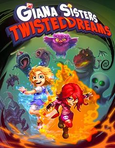 Giana Sisters Twisted Dreams by Black Forest Games. Giana Sisters, Forest Games, Mystery Shopper, Love Games, Black Forest, High School, Barbie, Digital, Dreams