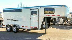 2017 Logan Coach Horse Trailer #11N170413 Transwest Truck Trailer RV BELTON Missouri | Fastline Horse Trailers, Missouri, Logan, Recreational Vehicles, Rv, Trucks, Horses, Motorhome, Camper Van