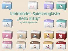 """Akisima Sims Blog: Toy boxes """"Hello Kitty"""" • Sims 4 Downloads"""