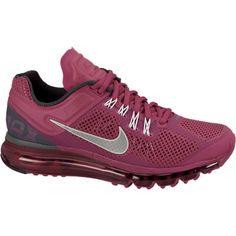 Nike Air Max+ 2013 Women's Running Shoes - Sport Fuchsia, 10