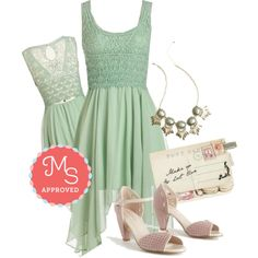 In this outfit: This Sway and That Dress, Refined and Radiant Necklace, Through the Post Clutch, Waltzing on Air Heels