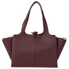 Celine Tri-Fold Shoulder Bag | Bordeaux Grained Calfskin Leather | eBay