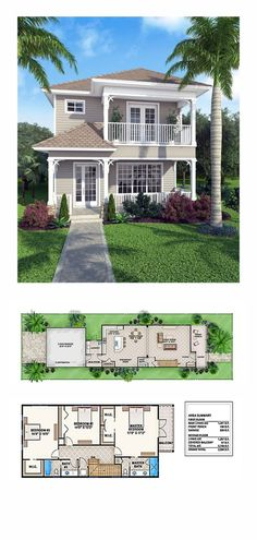 New House Plan 52908 | Total Living Area: 2758 sq. ft., 3 bedrooms and 2.5 bathrooms. #houseplan by DenyMacMart
