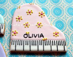 piano cookies - $$$ but GORGEOUS