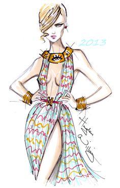 #Hayden Williams Fashion Illustrations: Hayden Williams 2013