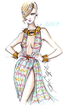 #Hayden Williams Fashion Illustrations: Hayden Williams 2013