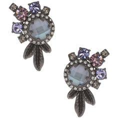 Marchesa Cluster Stud Earrings ($51) ❤ liked on Polyvore featuring jewelry, earrings, stud earrings, cluster jewelry, marchesa, cluster earrings and cluster stud earrings