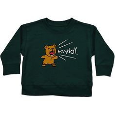 Baylor University Bears Infant Baby Crewneck Sweatshirt