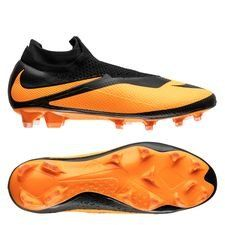 Nike Phantom Vision 2 Elite Df Fg Future Dna Black Bright Citrus Limited Edition In 2020 Football Boots Boots Football