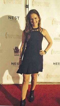 And Anne Hamilton wears Camilla to the Opening party of the Beverly Hills Film Festival.