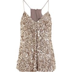 Vince - Sequined Tank found on Polyvore