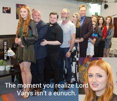 First Ramsay, now Varys, Poor Sansa... XD IM CRYING