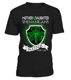 Mother and Daughter Shenanigans  #gift #idea #shirt #image #brother #love #family #funny #brithday #kinh #daughter