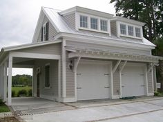 The Horseshoe Manor by Allison Ramsey Architects Garage