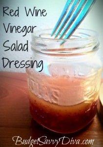 Red Wine Vinegar Salad Dressing Recipe