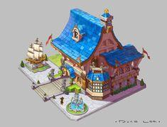 ArtStation - Mansion, Dune Lee
