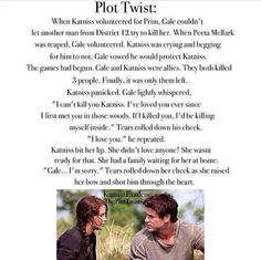 Hunger games: plot twist
