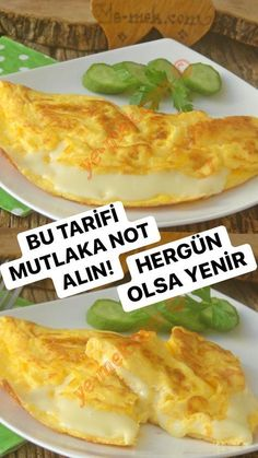 Cheese Omelette, Omelette Recipe, Turkish Recipes, Ethnic Recipes, Iftar, Food Preparation, Snacks, Breakfast Recipes, Food Porn