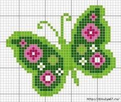 Tina's handicraft : 11 plans for cross stitch embroidery Butterfly Cross Stitch, Cross Stitch Bird, Cross Stitch Animals, Cross Stitch Flowers, Cross Stitch Charts, Cross Stitch Designs, Cross Stitching, Cross Stitch Embroidery, Cross Stitch Patterns