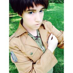 """I'm ready to fight ready to destroy every last Titan!"" 