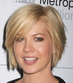 Short Hairstyles For Chubby Faces | round faces, don't worry, there are many short hairstyles for round ...