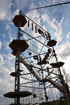 Synergy Woods (Paintball Challenge is Ohio's Number One Paintball Field) ropes course etc. (Grafton, Ohio)