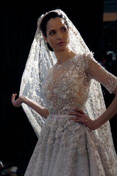 Ralph and Russo Couture Bride Pictures Hanaa Ben Abdesslem (Vogue.com UK)
