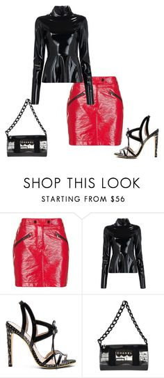 """Untitled #5484"" by browneyegurl ❤ liked on Polyvore featuring Topshop, Tome, Paola Fabris and Chanel"