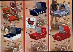 baby carriage I wanted Vintage Pram, Vintage Toys, Prams And Pushchairs, Dolls Prams, Pram Stroller, Never Grow Up, Baby Carriage, Baby Gear, Baby Dolls