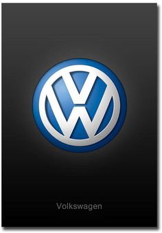$4.5 - Volkswagen Logo Fridge Magnet Collectible Size 2.5\