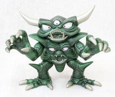 RARE! Dragon Quest Sofubi Monster Necrosaro Figure Limited Metalic Color Ver.