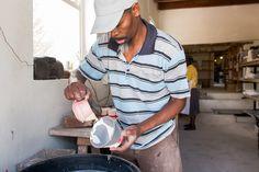 Rialheim Artisans in action.   #Rialheim #ceramics #pottery #Bowl #CeramicsReimagined #HandmadeinSouthAfrica #Robertson #RobertsonSouthAfrica #DreamBelieveFly #SouthAfrica #celebrateartisans #Artisans #FlagshipStore #Johannesburg #GetRialheimReady #3DTiles #potplantstands #lighting #Pendants #tablelamps #Decor #walldecor #serveware #gifts #gift #SouthAfricandesign #ProudlySouthAfrican #Design #Interiordesign #focuswall #functionalart #festiveseason #summer #Celebrate #7years #craftingmagic