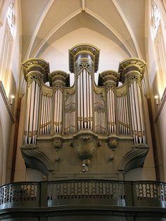 Deurne - Church of Saint Willibrordus, main organ by pietbron, via Flickr