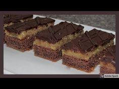 Opilý František nebo Izidor? Ořechovo - rumové řezy s polevou z ledových kaštanů. - YouTube Cheesecake, Food And Drink, Sweets, Drinks, Cooking, Desserts, Recipes, Youtube, Bakken